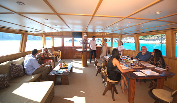 Blue Lagoon 70 - Limestone overnight cruises fleet