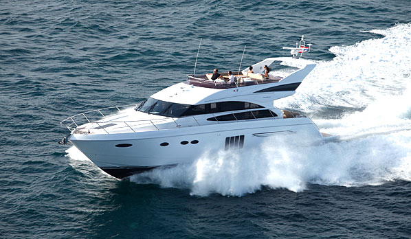 Princess P64 - Limestone yacht fleet