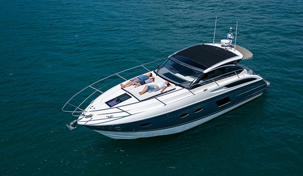 Princess V39 - Limestone Private Charters Fleet