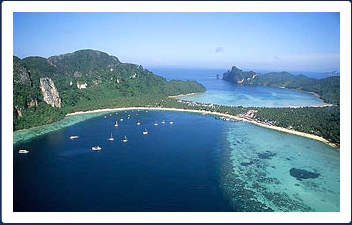 Phi Phi boating destinations